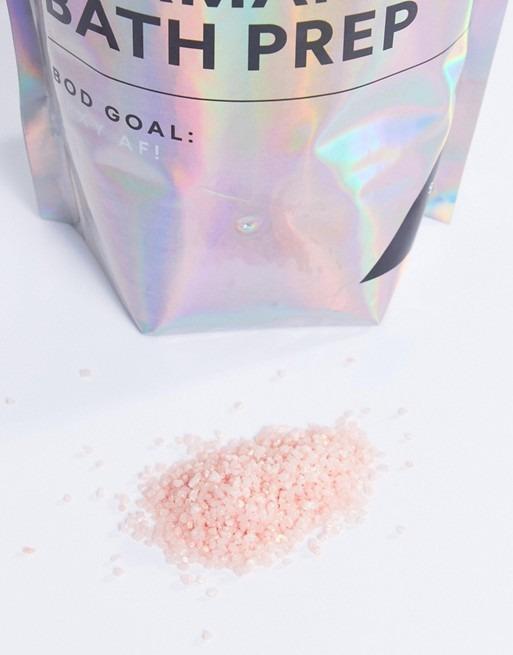 BOD Mermaid Bath Prep With Pink Shimmer