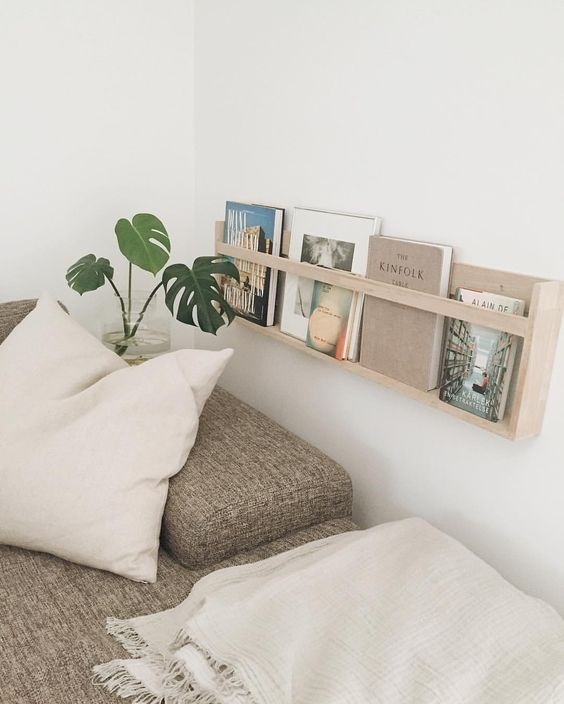 Tips on bookshelf styling