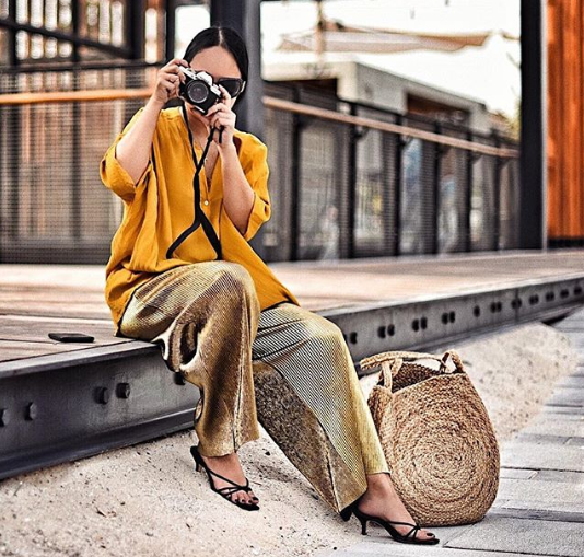 Dubai's Best Dressed: Yellow summer street style 8