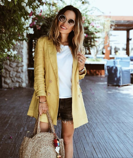 Dubai's Best Dressed: Yellow summer street style 5