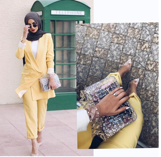 Dubai's Best Dressed: Yellow summer street style 6