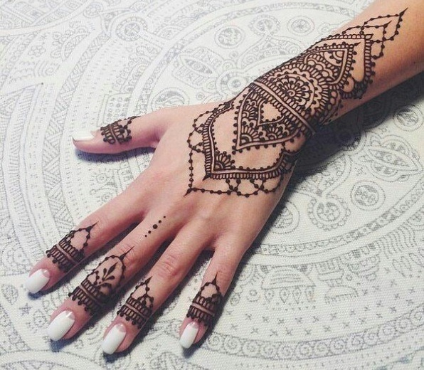Henna designs for Eid