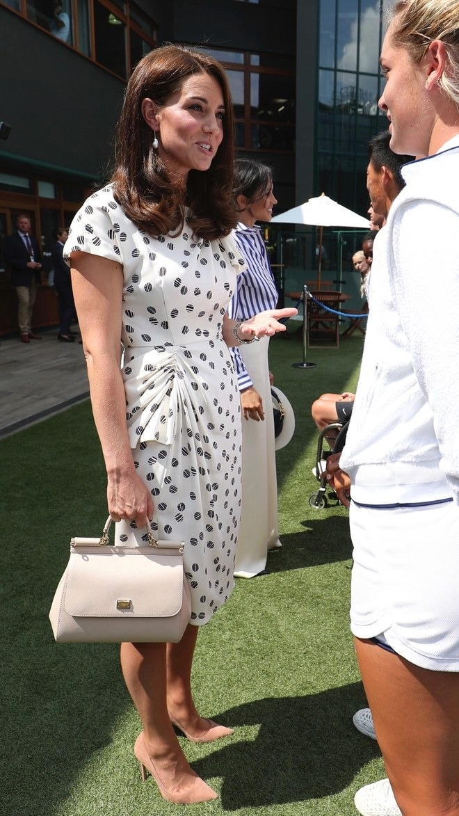 Wimbledon 2018 Best Dressed: Kate Middleton