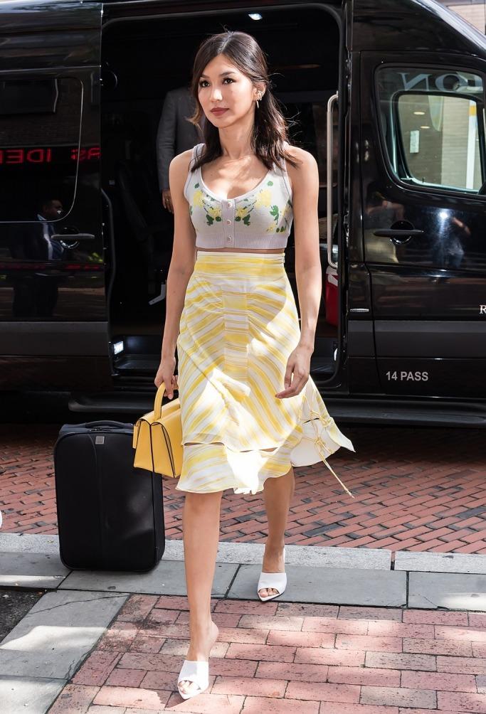 Gemma Chan in Altuzarra