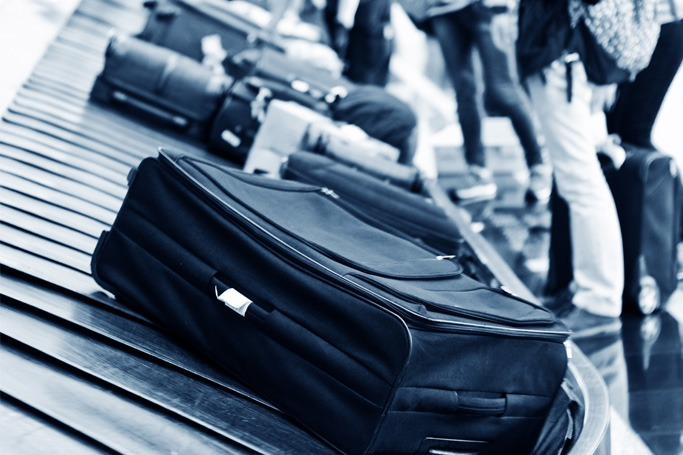 Avoid carrying a black suitcase