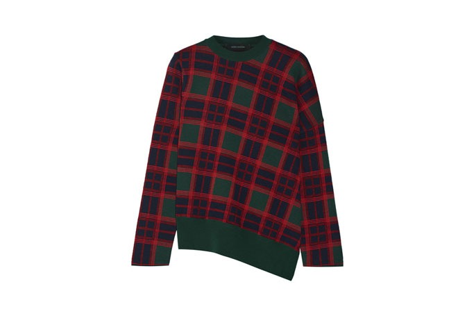 Festive Plaid Sweaters