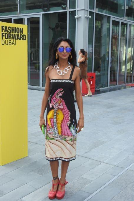 Fashion Forward Dubai 2017: Top Women's Street Style Looks