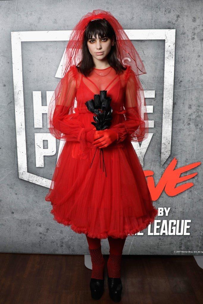 Dua Lipa Halloween costume 2017
