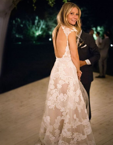Gwyneth Paltrow bridal look