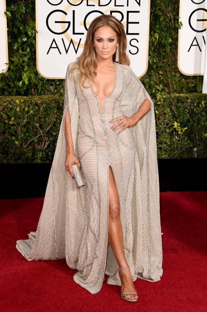 Jennifer Lopez At The Golden Globe Awards 2016