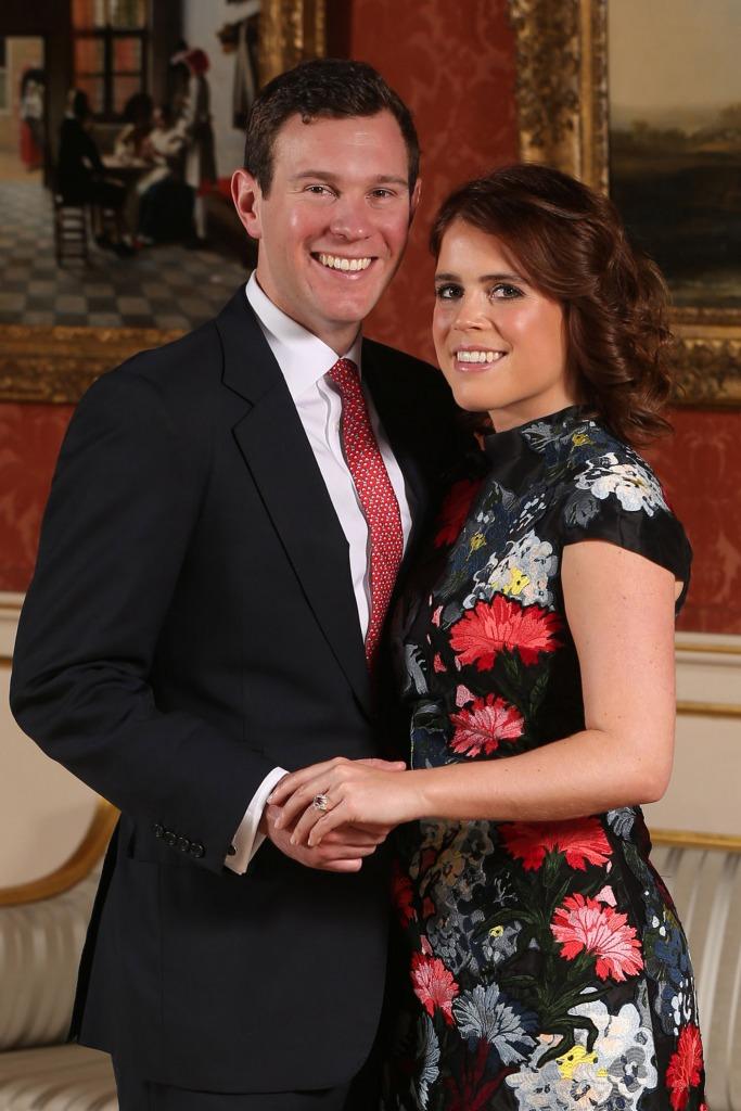 Princess Eugenie's rare sapphire engagement ring