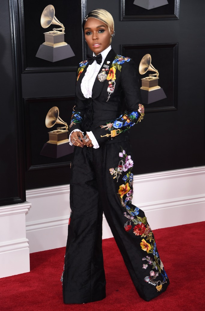 Red carpet fashion from the Grammys 2018
