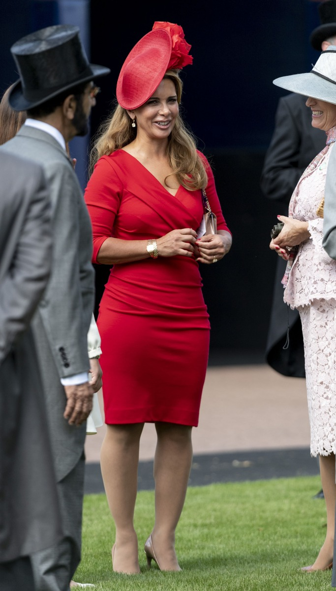 Princess Haya At The Epsom Derby