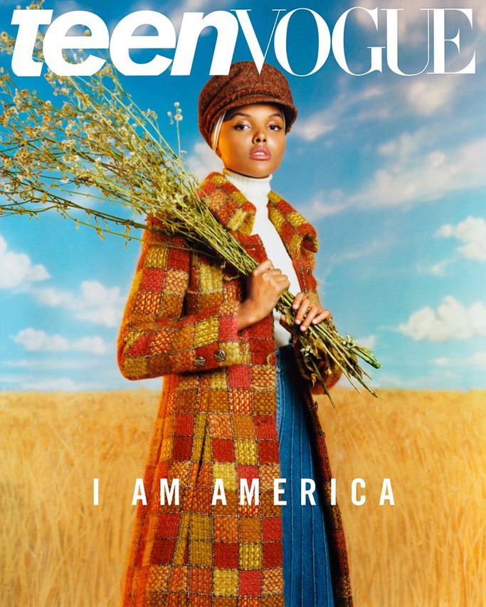 First Model Wearing A Hijab On Teen Vogue Cover 1
