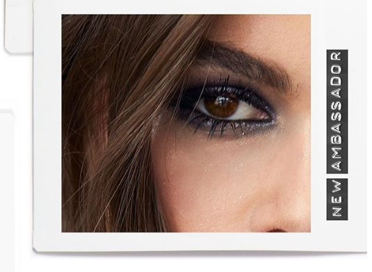 Kaia Gerber face of YSL Beauty