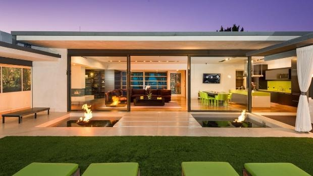 Matthew Perry's Gorgeous LA Home