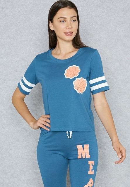 Lounge District Mermaid Pyjama Set