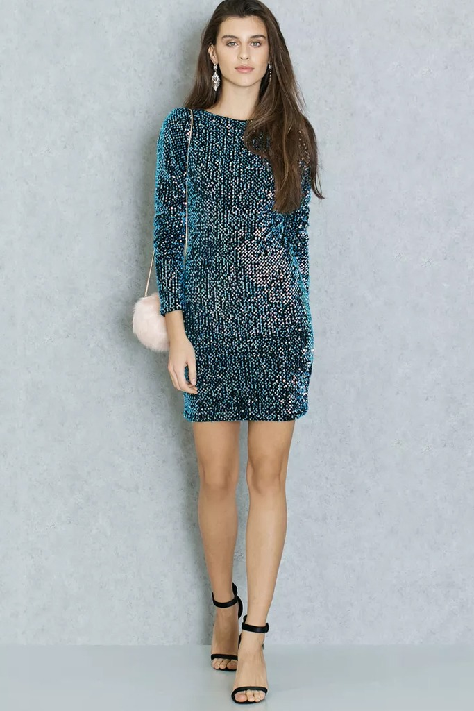 Namshi - MOTEL Sequin Bodycon Dress