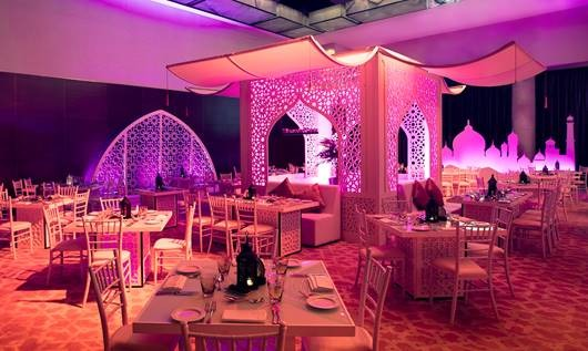 Ramadan tent at Address Dubai Marina