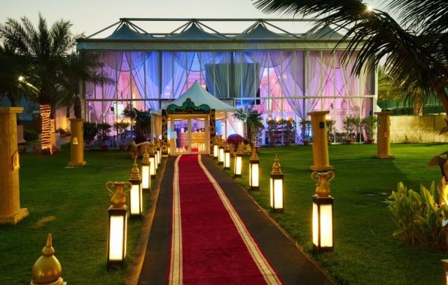 Ramadan tent at Habtoor Grand Resort