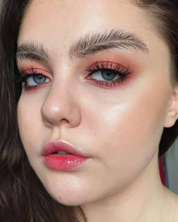 8 Of The Weirdest Eyebrows Trends Out There