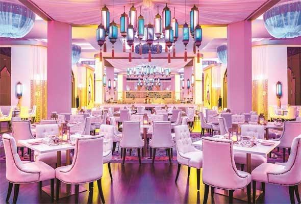 Al Fanous Lounge, JW Marriott Marquis, Ramadan tent