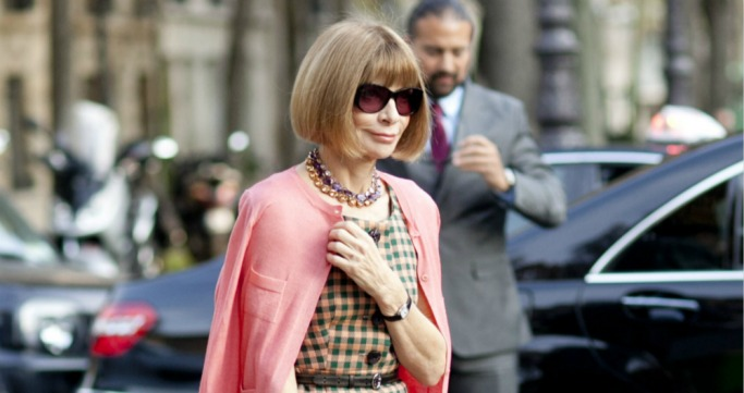 Anna Wintour, iconic sunglasses
