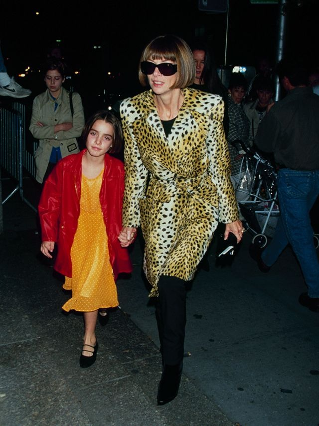 Anna Wintour with daughter Bee