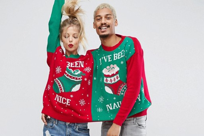 Boohoo - Two Person Christmas Jumper