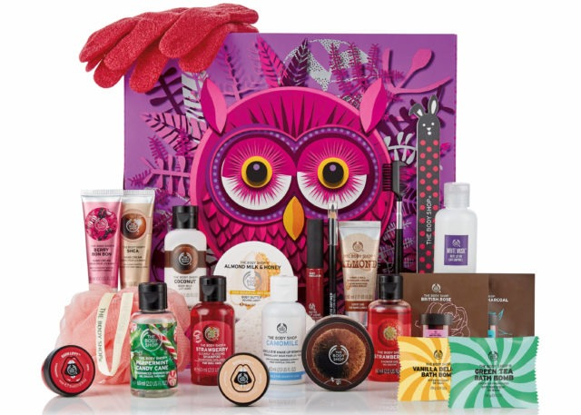 The Body Shop 24 Days of the Enchanted Advent Calendar