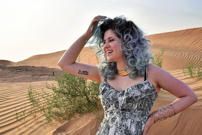 Dubai beauty blogger, New Old Girl