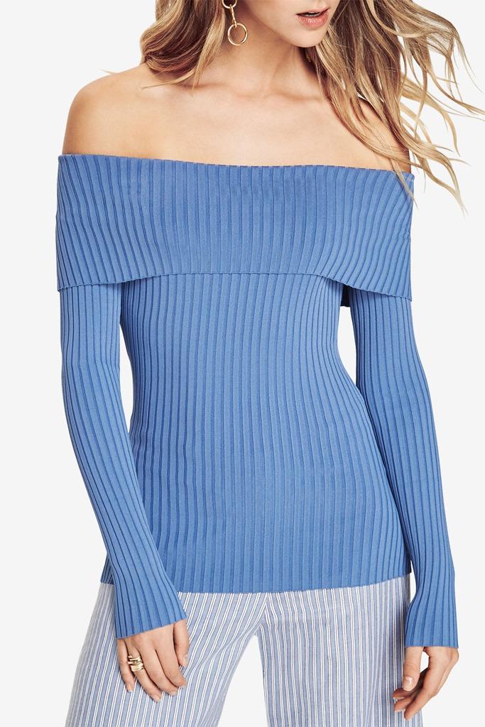 BCBG MAX AZRIA - Risa Off-The-Shoulder Sweater
