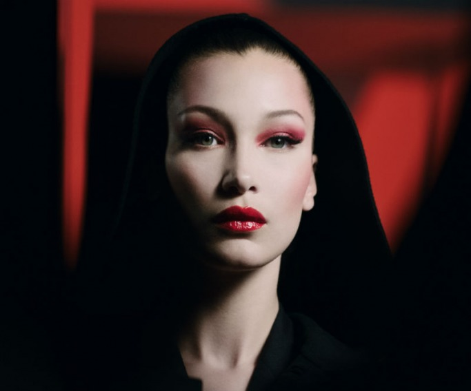 Dior and Bella Hadid Halloween Makeup 1