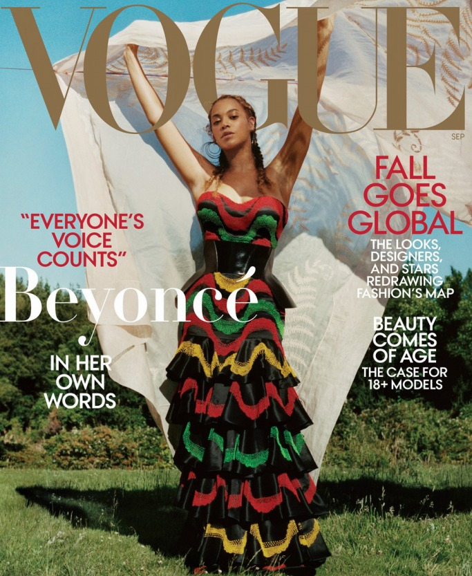 Beyoncé September 2018 Vogue Issue shot by Tyler Mitchell