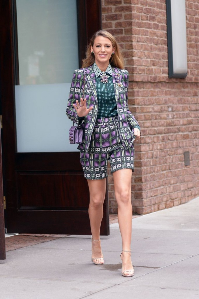 Blake Lively Suit Look-book 5