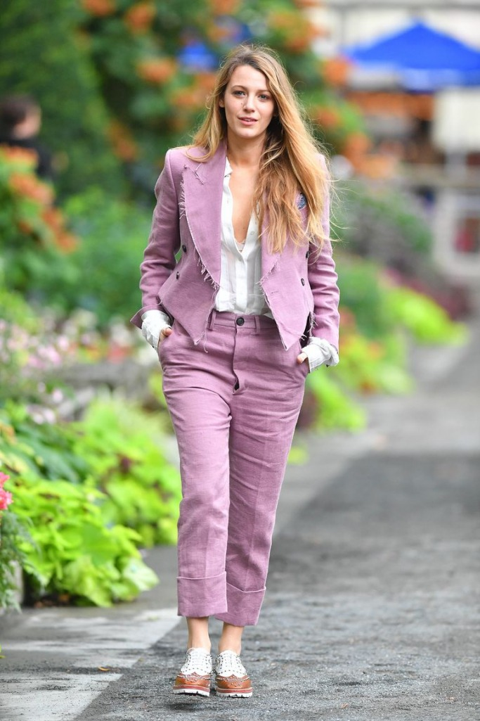 Blake Lively Suit Look-book 7
