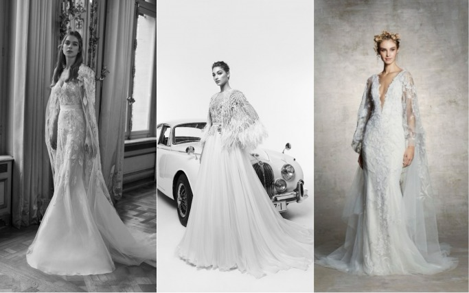 Spring 2019 Bridal Collections Capes