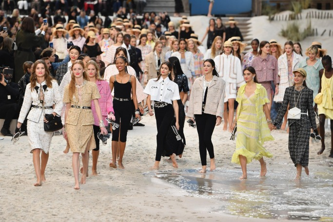 Chanel Spring Summer 2019, Beach Runway