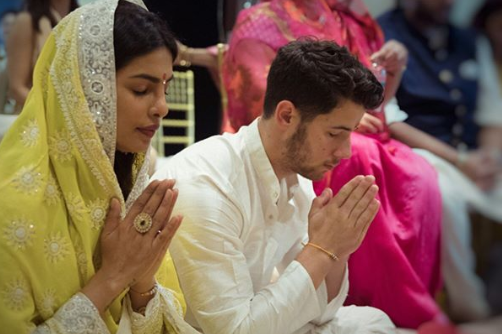 Priyanka Chopra and Nick Jonas Engagement 2