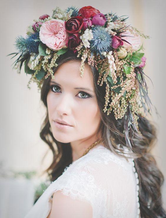 Bridal Flower Crowns 6