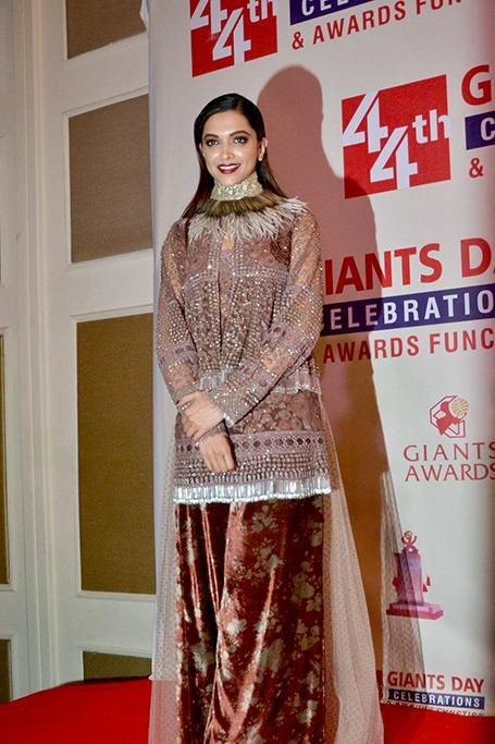 Deepika Padukone at the Giants International Awards in 2016