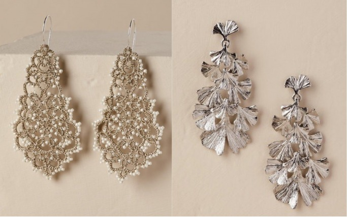 Statement bridal earrings 5