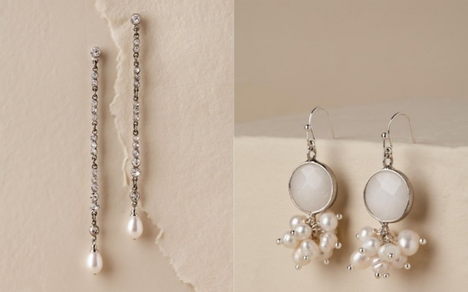 Statement bridal earrings 8