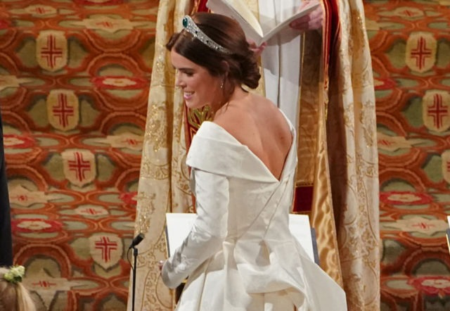 Princess Eugenie's Wedding Dress 2