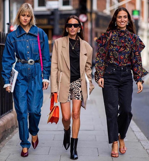 London Fashion Week SS19 Street Style 1