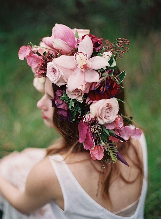 Bridal Flower Crowns 7