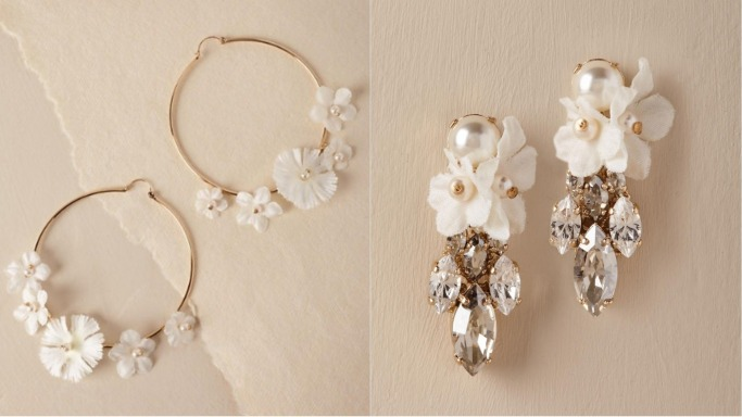 Statement bridal earrings 1