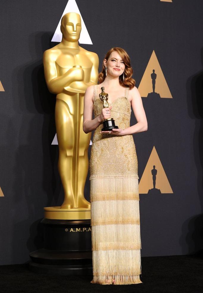 Emma Stone's 2017 Oscars gown