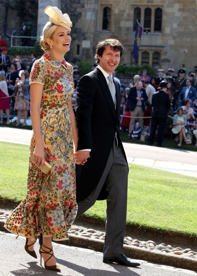 Guests at the Royal Wedding: Sofia Wellesley and James Blunt