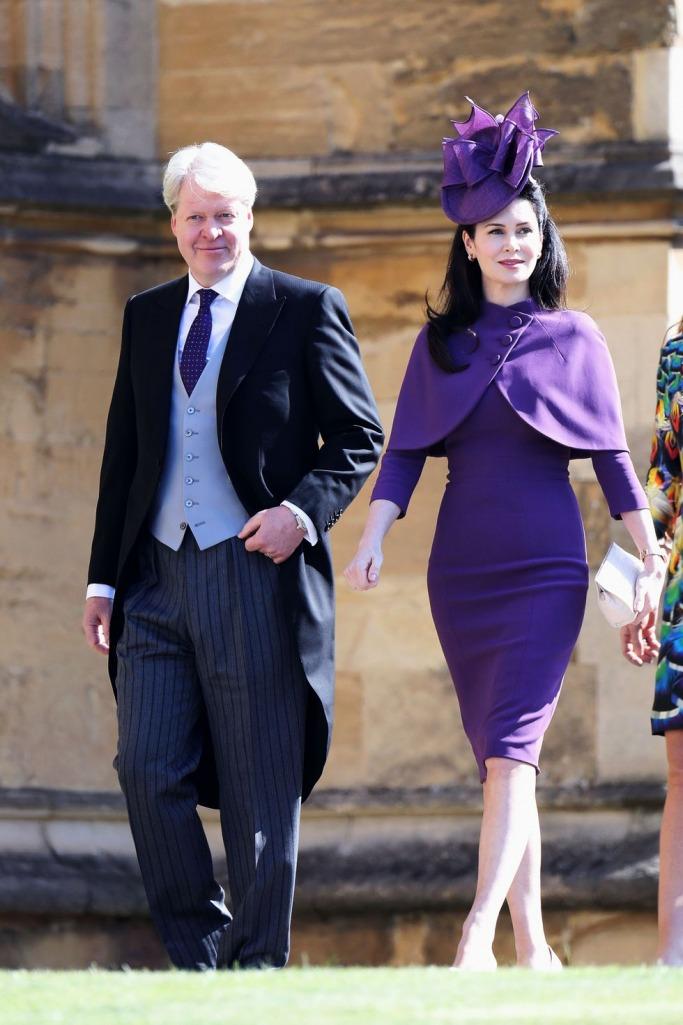 Guests at the Royal Wedding: Charles Spencer and Karen Spencer